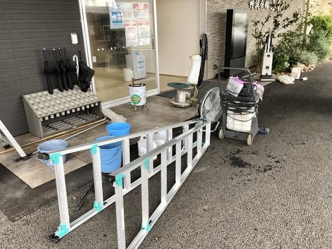 神誠会館ふくろい 全面清掃