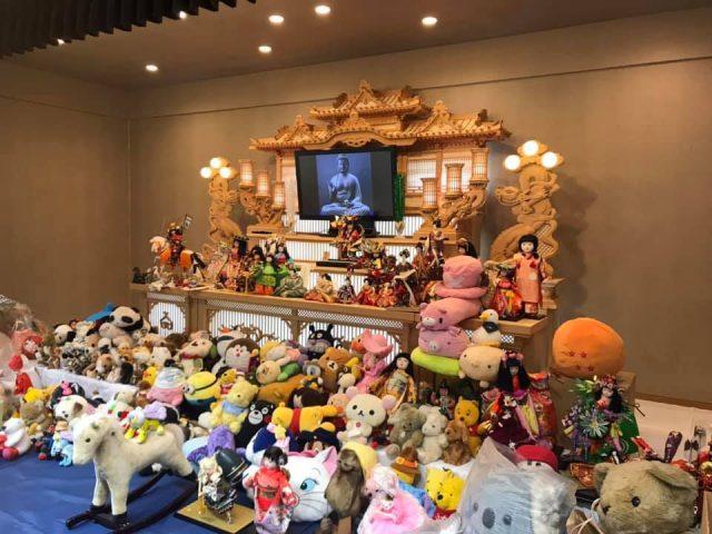 人形供養祭 in 神誠会館もりまち